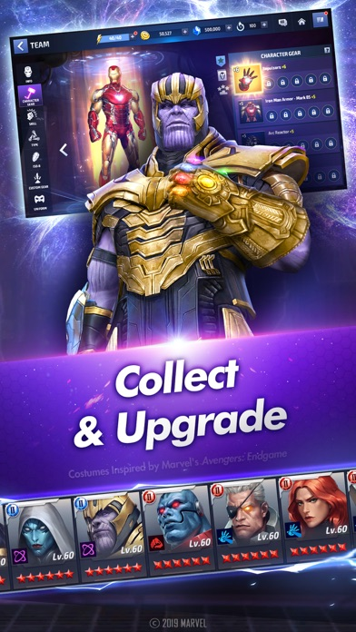 Screenshot from MARVEL Future Fight