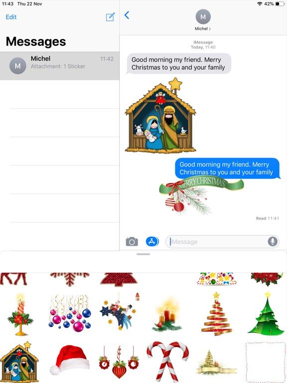 Screenshot #4 pour Christmas Lab - Stickers Image