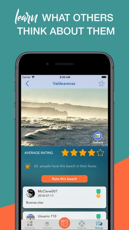 iPlaya. Beach weather forecast screenshot-7