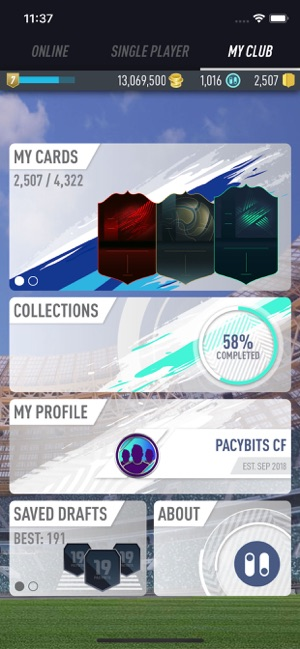 ‎PACYBITS FUT 19 Screenshot