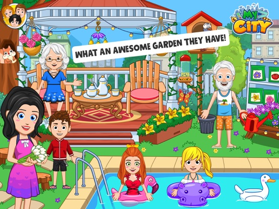 My City : Grandparents Home screenshot 9