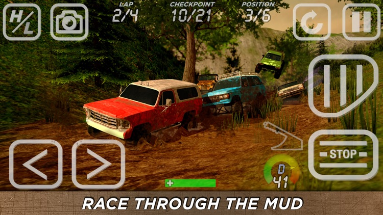 4x4 Mania: SUV Racing screenshot-3