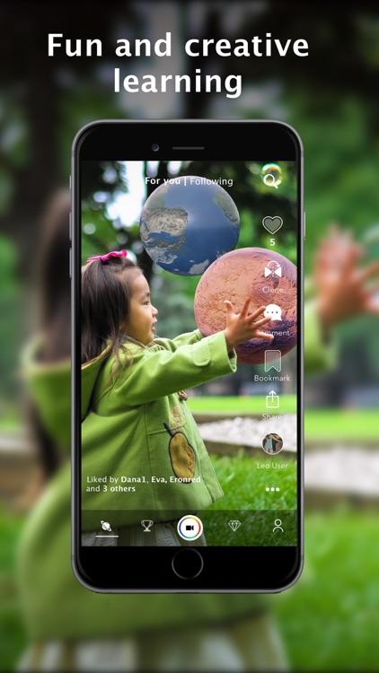 Leo AR Education ◉ #1 AR screenshot-4