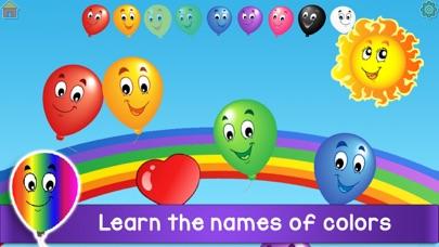 Kids Balloon Pop Language Gameのおすすめ画像5