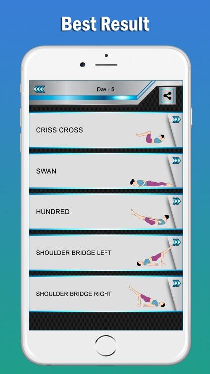 Pilates Fitness Yoga Workouts screenshot-4