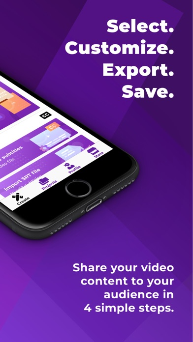 Veme.ly: Subtitles to Videos screenshot two