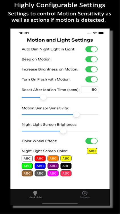 Night Light Motion Sensor