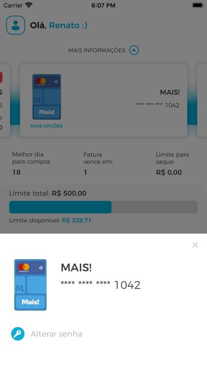 Cartão Mais! screenshot-3