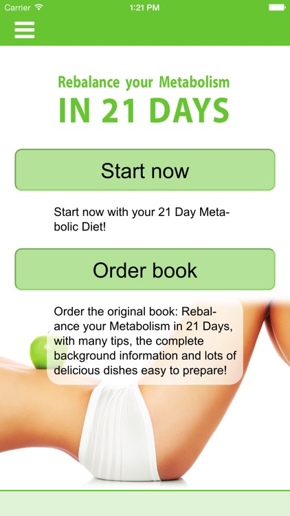 21 Days Metabolic Diet
