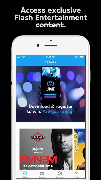 Flash Entertainment screenshot 3