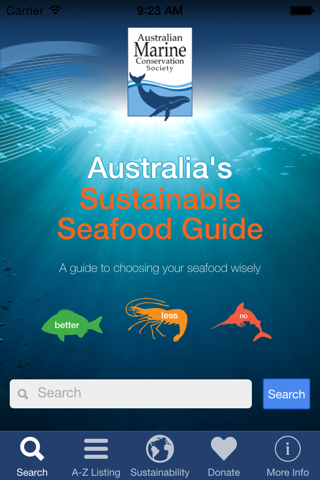 Sustainable Seafood Guide - náhled