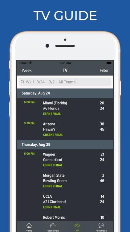 Utah State Football Schedules screenshot-6