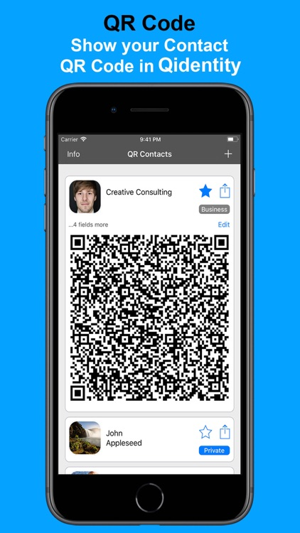 Qidentity - Share my Card screenshot-4