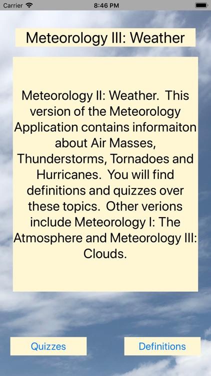 METE 2: Weather