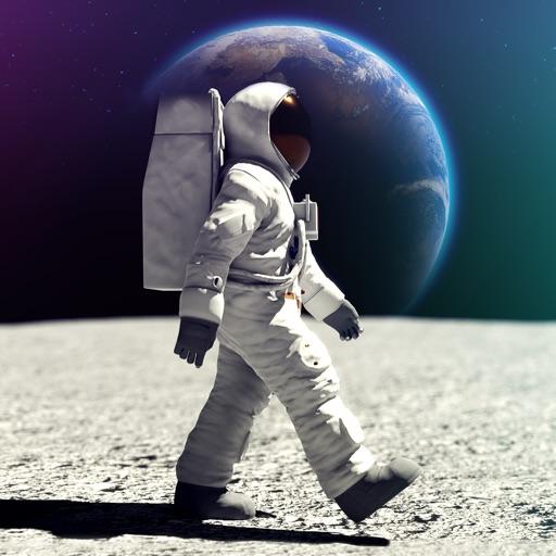 Moon Walk - Apollo 11 Mission icon