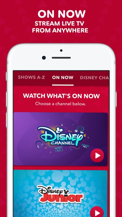 DisneyNOW – Episodes & Live TV screenshot-5