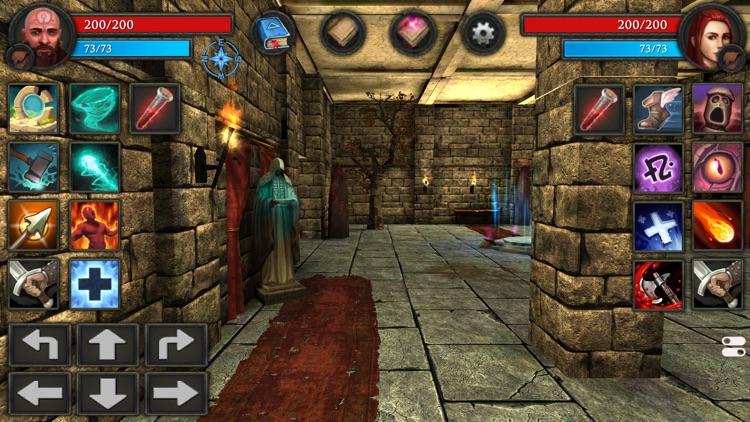Moonshades RPG Dungeon Crawler screenshot-0