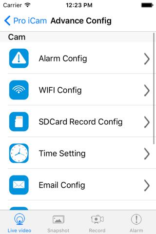 Pro iCam - náhled