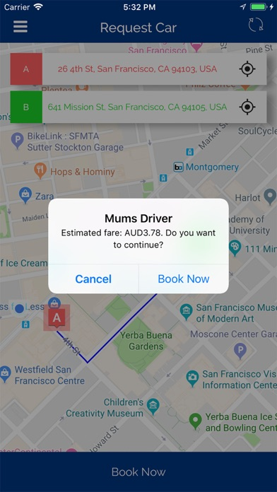 Screenshot for Mums Driver in India App Store
