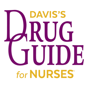 Davis's Drug Guide For Nurses ios app