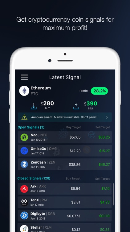 Cryptosignal screenshot-0