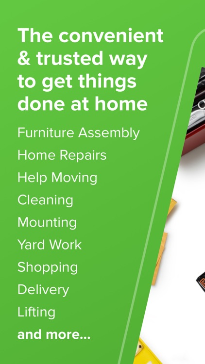 TaskRabbit - Handyman, Errands screenshot-0