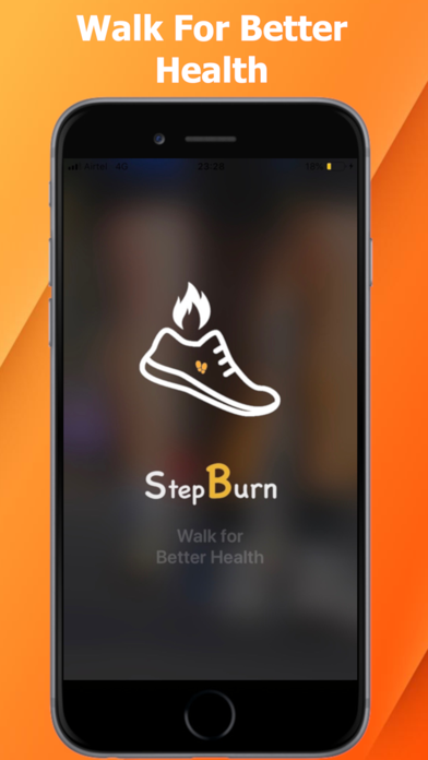 Step Burn Pedometer screenshot #1