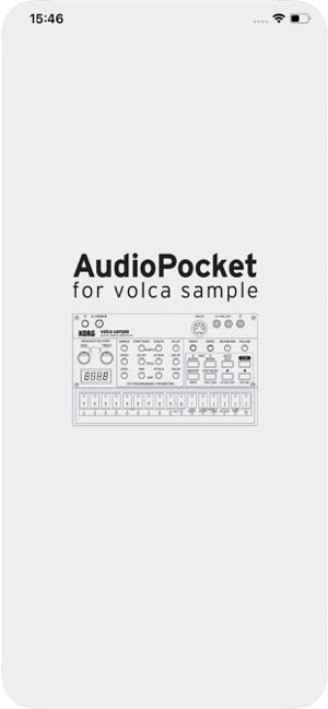AudioPocket for volca sample Screenshot