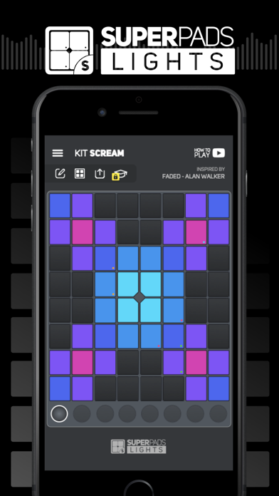 SUPER PADS LIGHTS - Be a DJ wiki review and how to guide