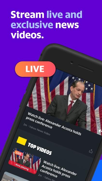 Yahoo News: Live, Breaking, US screenshot-4