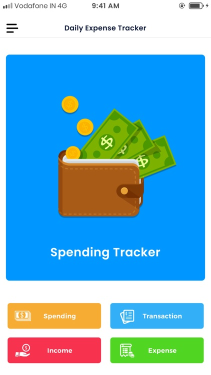 Daily Expense Tracker Manager