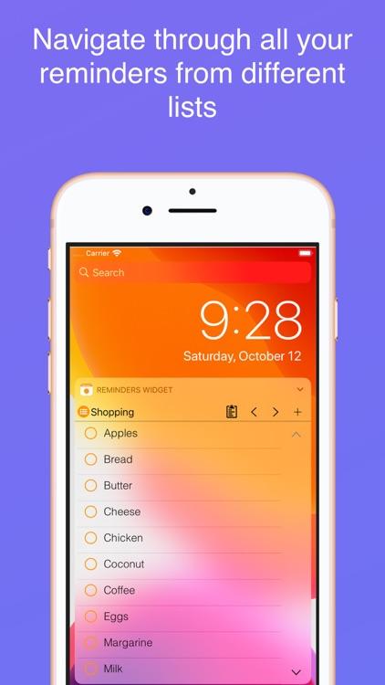 Reminders Widget screenshot-6
