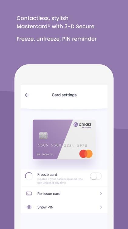 Amaiz – Smart business banking screenshot-4