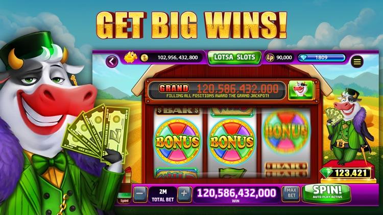 Lotsa Slots: Casino SLOTS screenshot-0