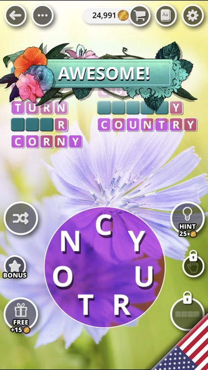 Bouquet of Words - Word Game screenshot-8