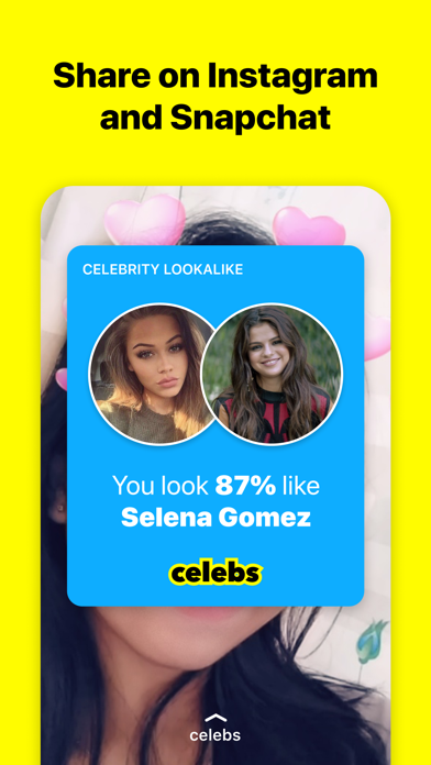 Celebs - Celebrity Look Alike Screenshot