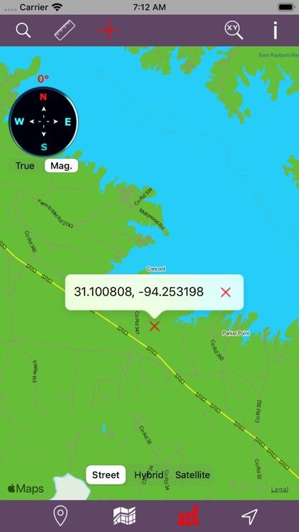 Angelina National Forest – GPS screenshot-3