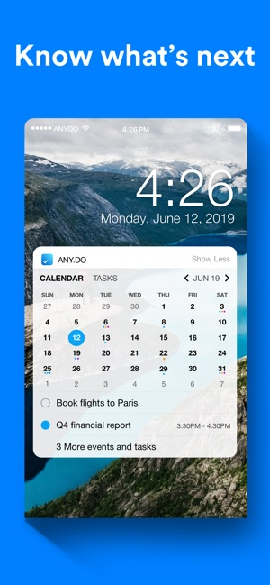 Any do: To-do list & Tasks on the App Store