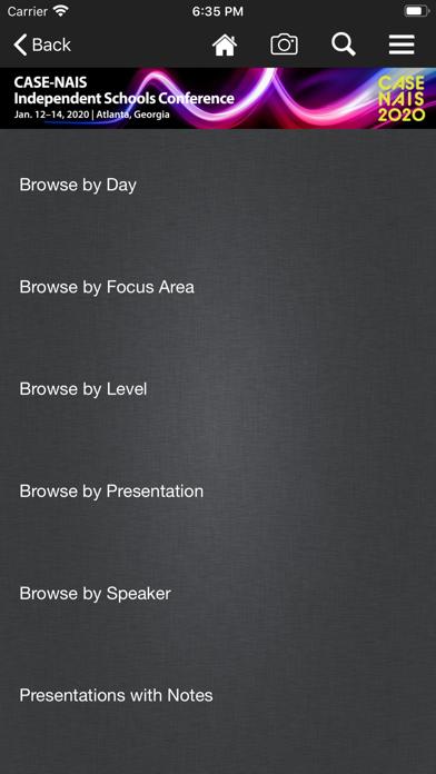 CASE Conference App screenshot four