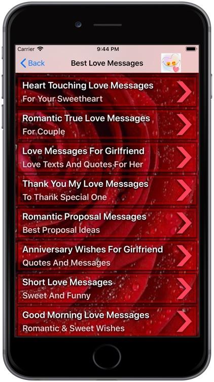 Romantic Love Messages, Quotes
