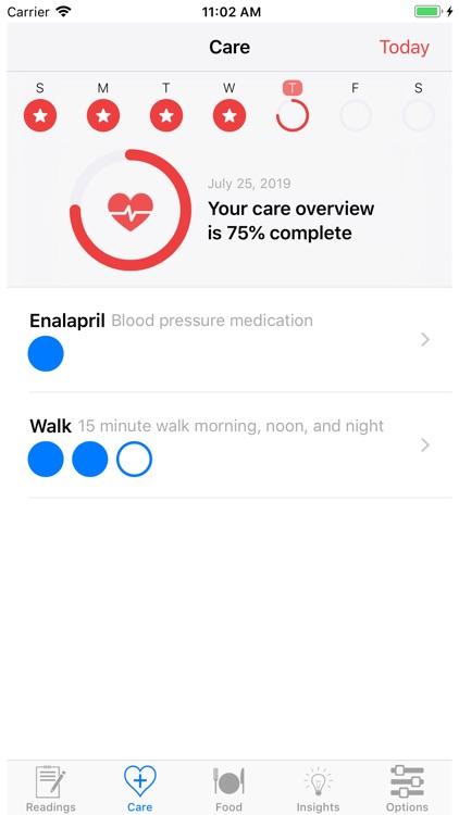HealthGear - Blood Pressure screenshot-6