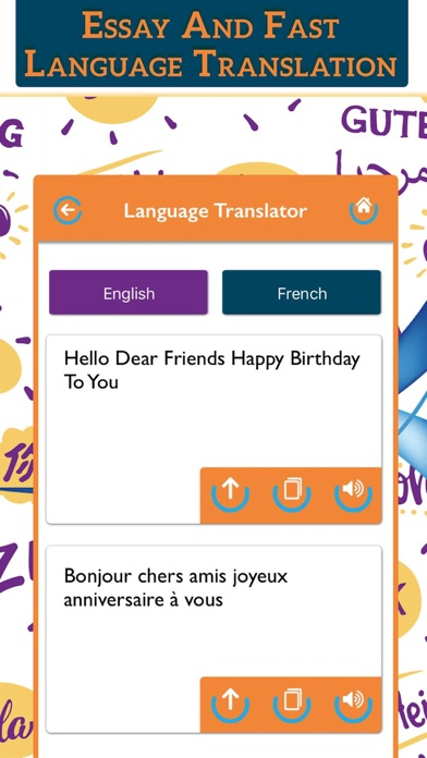 All Language Translator Lite screenshot two