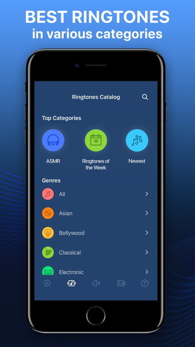 Screenshot for Ringtones for iPhone in India App Store