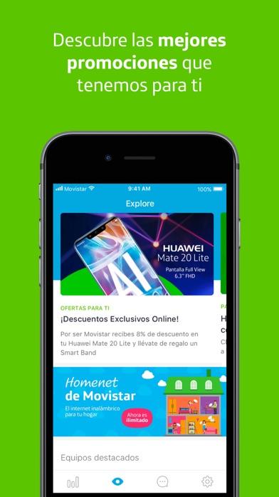 Screenshot for Mi Movistar EC in Ecuador App Store