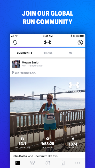 Map My Fitness by Under Armour screenshot three