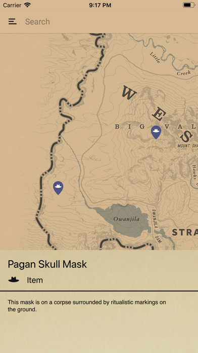 Unofficial Map for RDR2のおすすめ画像3