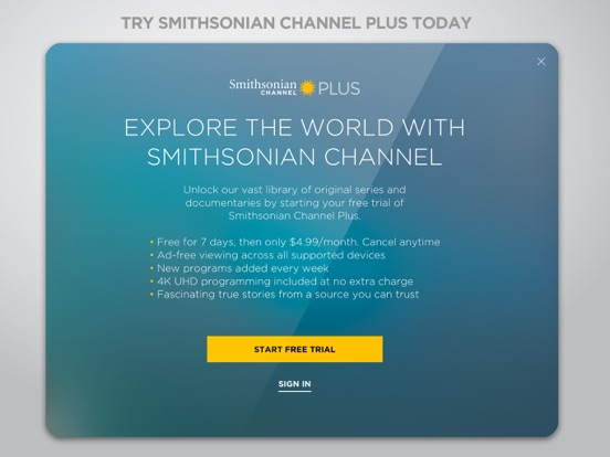 Smithsonian Channel screenshot 10