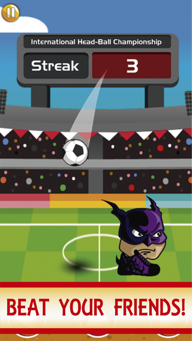 SuperHeroes Head Ball : Hero screenshot 1