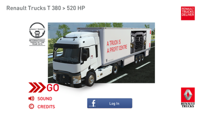 Renault Trucks Simulator screenshot one