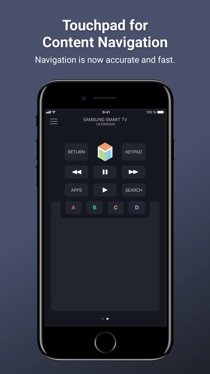 Remotie: remote for Samsung TV
